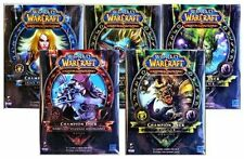 New Sealed World of Warcraft Spring 2012 Champion Deck Set of All 5 WoW TCG CCG