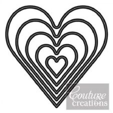 Couture Creations Nesting Dies Hearts 499993276682