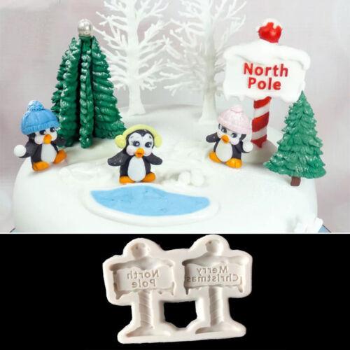 Christmas Tree Silicone Fondant Mold Cake Decor Chocolate Sugarcraft Baking Mold