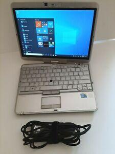 HP-EliteBook-2760p-Laptop-Tablet-i5-2-5-Ghz-12-1-034-128GB-SSD-8GB-RAM-Win10-PRO