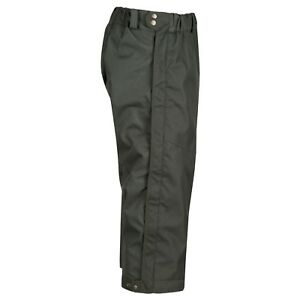 367b599fc93dc9 3/4 Over Trousers Ripstop Waterproof Shooting Beating Hunting Full ...
