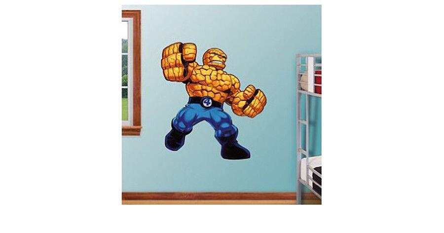 Fathead Super Hero Squad cosa Cuatro Fantásticos Marvel Comics Decoración de parojo 96-96059