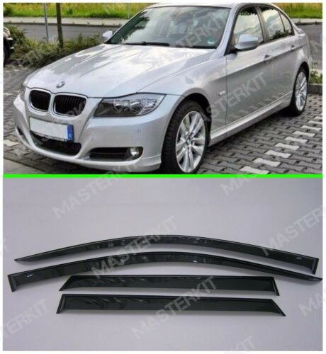 Sun Visors For BMW 3 E90 Sd 5d Windows Rain Deflectors Weather shields 2005-2012