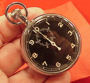 ARISTO-VINTAGE-MILITARY-TYPE-A-8-NAVIGATION-STOPWATCH-RUNS-BUT-NO-ZERO-OUT