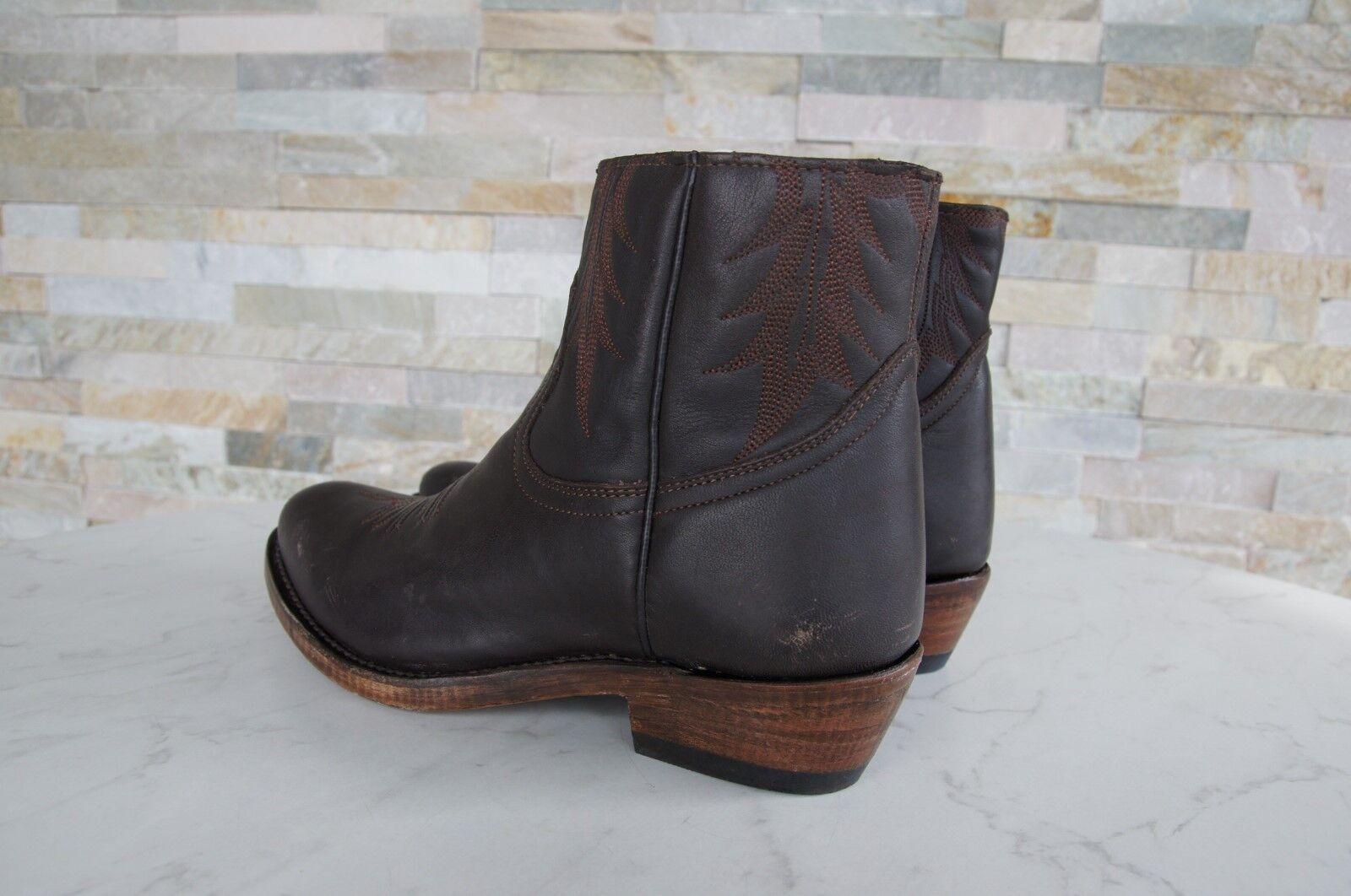 ASH Gr 38,5 Booties Schuhe braun Stiefeletten Vintage Country Kut braun Schuhe neu fb5740