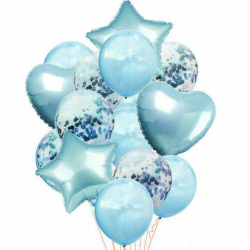 Ballons 14pcs Wedding Latex Foil Kids Baby Birthday Party Decor Balloons