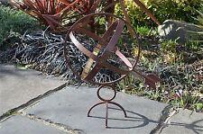 Stile antico Ferro e Ottone armillare Sfera Decorazione Giardino
