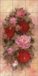 Rose-Tile-Backsplash-Ceramic-Mural-Cook-Flowers-Floral-Blossom-Art-CC014