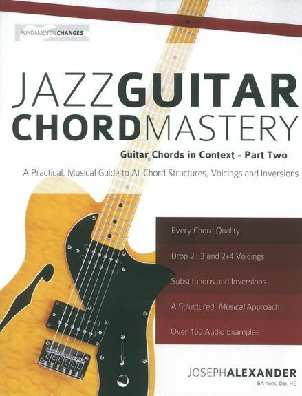 Jazz Guitar Chord Mastery Tab Music Book With Audio Chords in ...