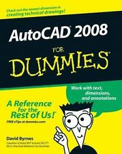 AutoCAD 2008 For Dummies, Byrnes, David, Good Book