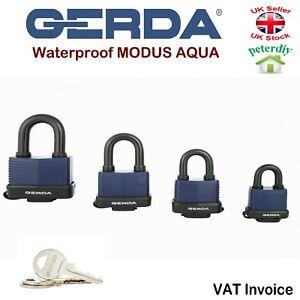 Gerda Heavy Duty Impermeable Candado Seguridad Abrir Grillete Modus Aqua  </span>