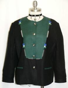 femme manteau lin en Black Women été église B33 Short 40 12 noir Coat carrière Church B33 Veste 40 Jacket Career 12 allemand M M courte German Summer Linen 5dItwtq