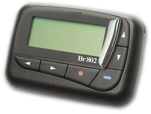 daviscomm bravo 800 with annual alpha pager service beeper office
