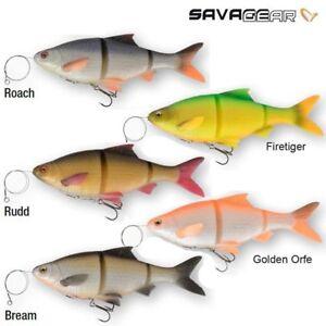 Savage-Gear-3D-Line-Thru-Rotauge-Koeder-Hecht-Zander-Wels-Angelzubehoer
