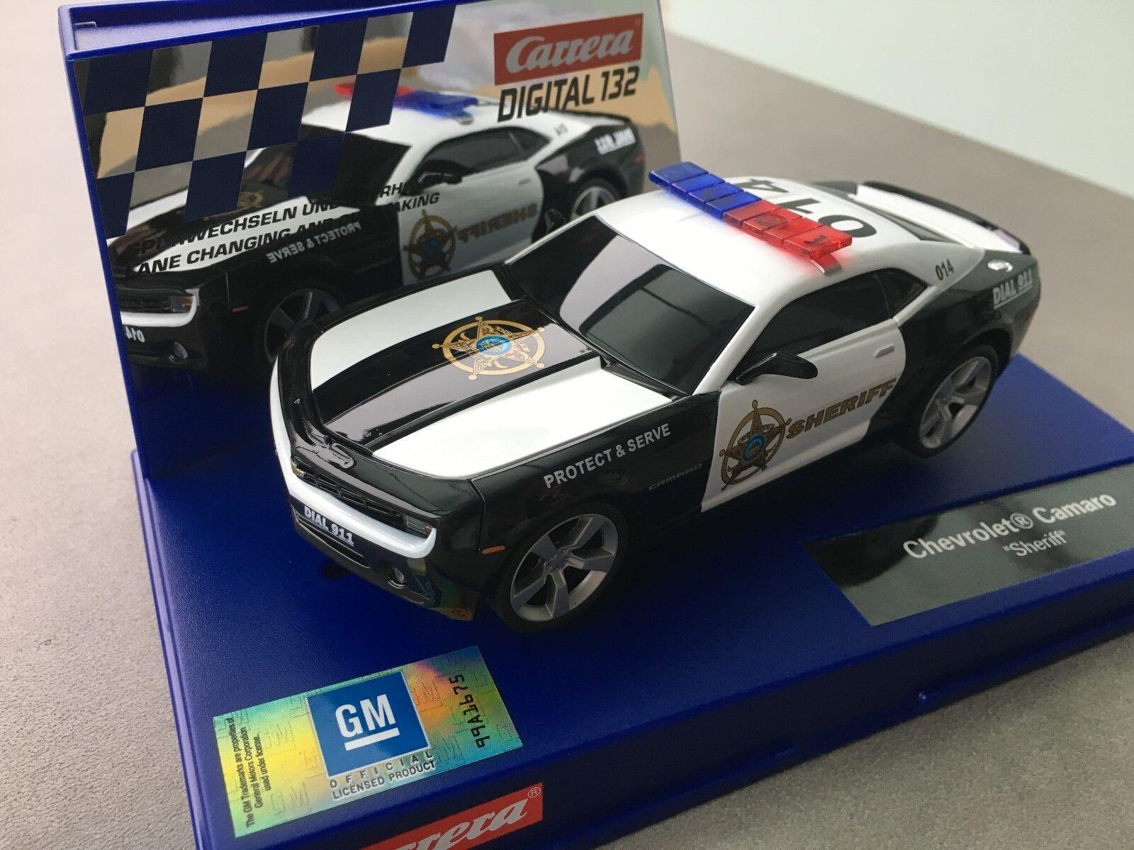 Carrera Digital 132 30756 Chevrolet Camaro   Sheriff   Flashing Light Nip