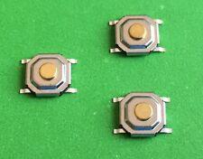 Set di 3 Micro Interruttori per JAGUAR TELECOMANDO CHIAVE RIPARAZIONE FISSAGGIO