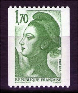 TIMBRE-N-2321-NEUF-XX-LUXE-LIBERTE-ROULETTE