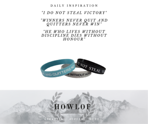 Motivational Bands Limited Edition Pack Quotes to Inspire!