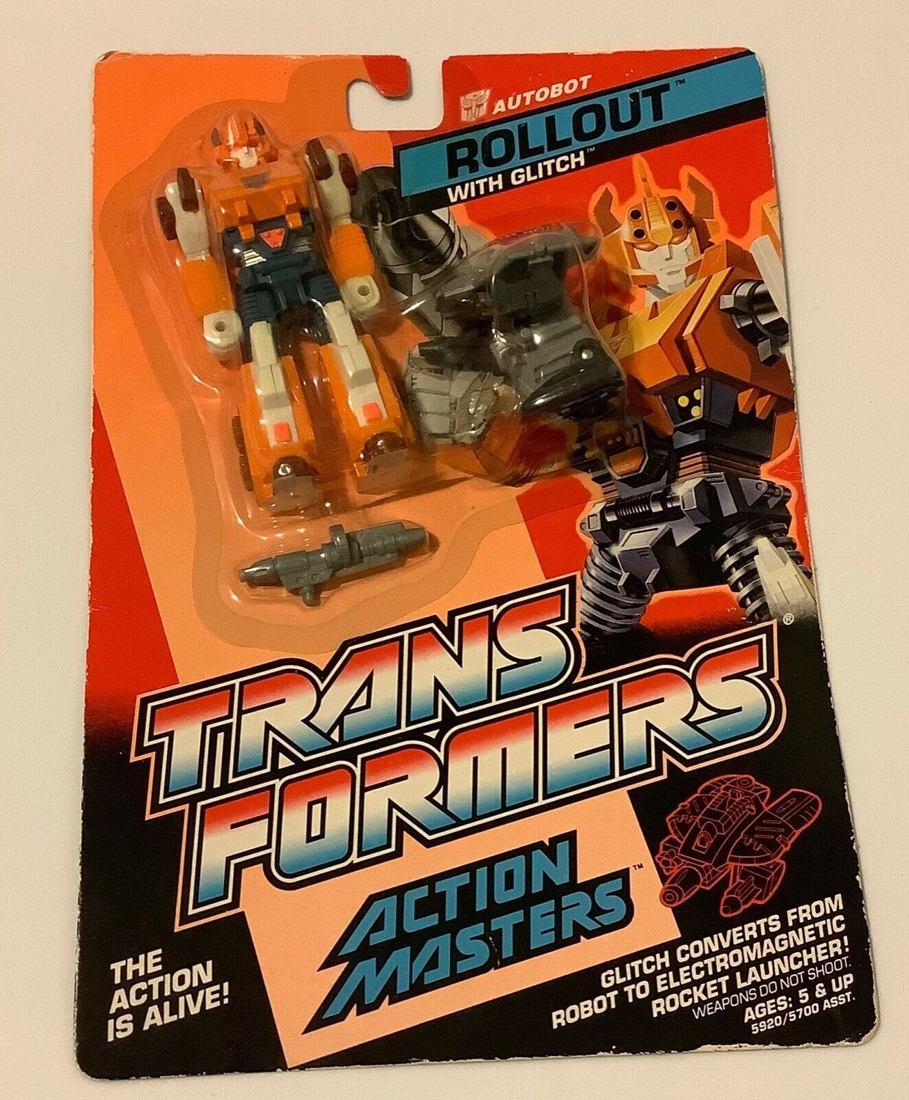 Vintage Transformers G1 1985 Deluxe véhicule Roadbuster Laser fusil mitrailleuse part