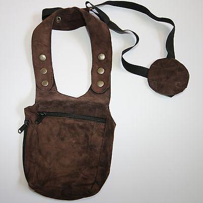 Halfter Tasche Holster Schulterholster aus Baumwolle goa psy security bag
