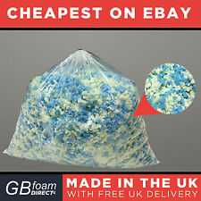 10kg Ultimate Bean Bag Stuffing | Memory Foam Mix 50/50 | Cushion Pillow Filling