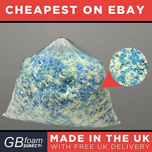 Image Is Loading 5kg Ultimate Bean Bag Stuffing Memory Foam Mix