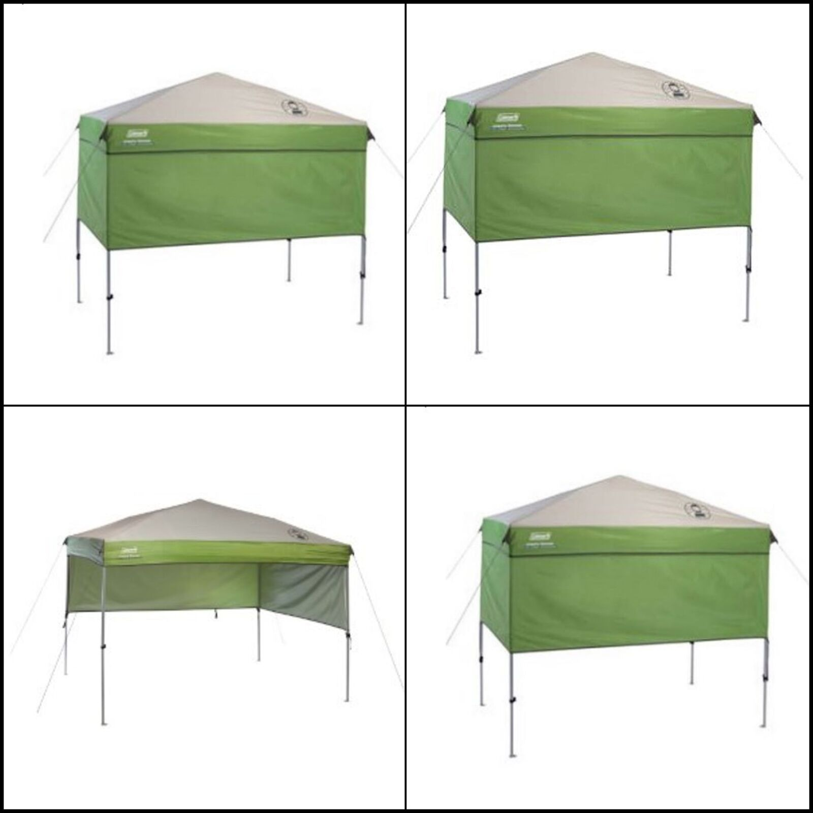 Heavy-Duty Portable Instant Canopy Sun Shelter  Outdoor Tent Green  7' x 5' ft  sales online