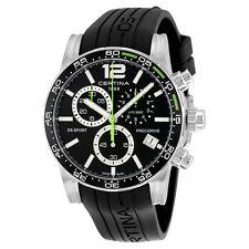 Certina DS Sport Chronograph Black Rubber Mens Watch C027.417.17.057.01