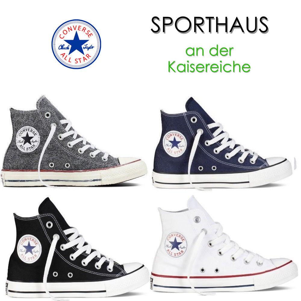 Converse Unisex Chucks All Stars Hi High Top Sneakers Schuhe NEU