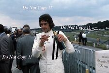 Tom Pryce UOP Shadow F1 Portrait British Grand Prix 1974 Photograph 3