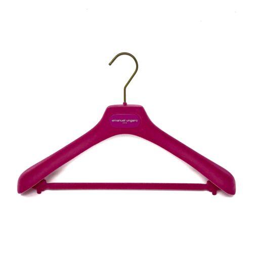Ungaro Pink Velvet Gold Hanger for Top or Jacket