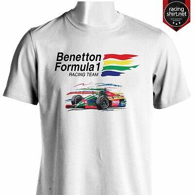 BENETTON Formula 1 Team Retro F1 Shirt