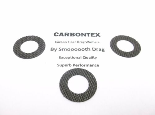 3 DAIWA REEL PART Saltist 4500H - Smooth Drag Carbontex Drag Washers #SDD151