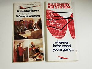 Vtg-2-1972-1975-ALLEGHENY-AIRLINES-System-Timetables-Schedules