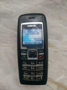 Nokia 1600 2 g-téléphone mobile-Noir-état de fonctionnement-Débloqué
