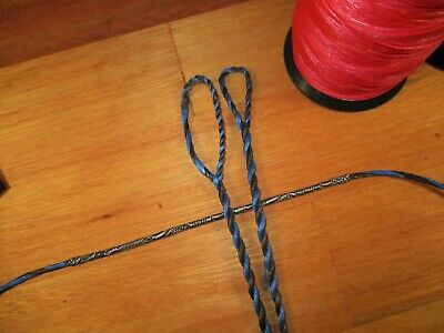 Recurve up to 60 Pound Blue Flemish Twist Bow String Custom  B55 Longbow