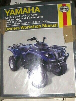 YAMAHA KODIAK 400 450 GRIZZLY 600 660 MANUAL 1993 05 EBay