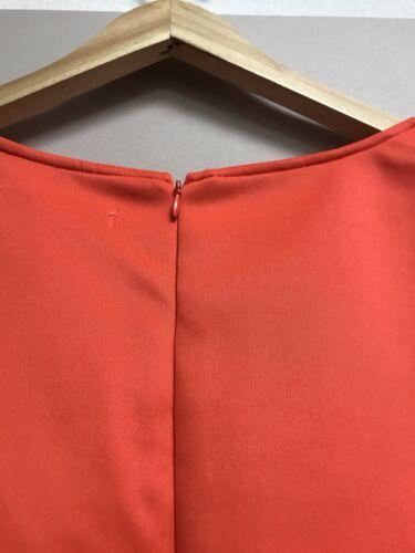 Women/'s Forever Audrey Orange sleeveless Tunic Top New Plus size 3X