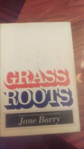 Grass-Roots-by-Jane-Barry-1968-1st-Edition-Signed-by-Author