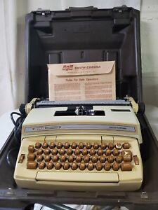 Smith Corona Coronamatic 6E Typewriter Deville Cartridge & Case FREE SHIPPING