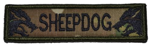 Sheepdog 1x3.75 Military//Morale//Police Patch Hook Backing