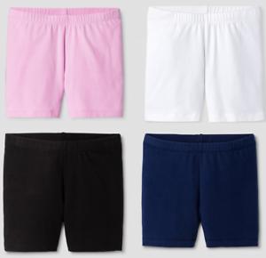 Girls-039-Tumble-Shorts-Cat-amp-Jack-Pink-Navy-Black-White-Under-Dresses-Skirt