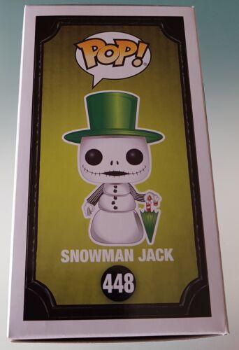 Snowman Jack Skellington Nightmare Before Christmas Funko Pop Figure Disney