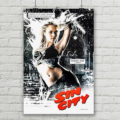 Sin City Classic Large Movie Poster Art Print A0 A1 A2 A3 A4 Maxi