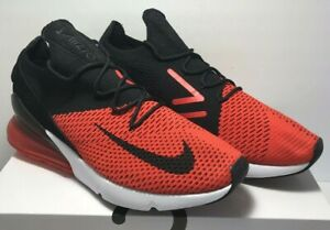 6210cf074f00 Nike Mens Sz 11.5 Air Max 270 Flyknit Chile Red Challenge Black ...