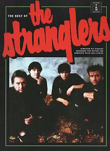 THE-STRANGLERS-Guitar-TAB-Sheet-Music-Book-With-Full-Lyrics-Songbook-19-Songs