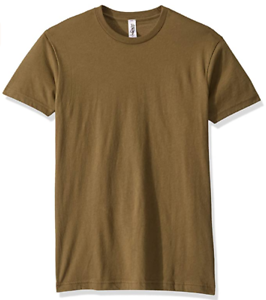 Marky-G-Apparel-Men-039-s-Cotton-Crew-T-Shirt-Military-Green-Size-XS-NWT