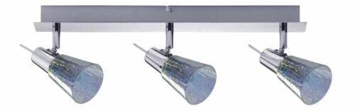 Paulmann 603.16 Spotlight Omikron Balken 3x42W G9 230V Chrom Metall//Glas