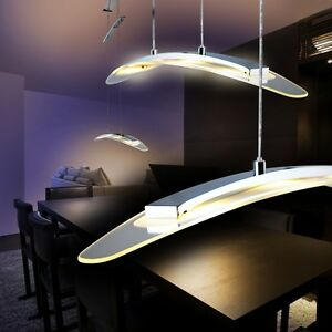 Led design moderno Lampada a Sospensione per tavolo lungo Sala da ...