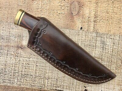 Custom Leather Cross Draw Sheath for Buck Vanguard 692 or Zipper